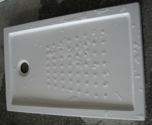 Slim Acrylic Shower Tray Plates with Ce Certificate, Rectangle Acrylic Shower Tray pictures & photos