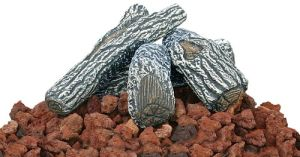Ceramic Fiber for Ethanol and Gas Fireplace Logs pictures & photos