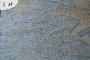 Copy Viscose Chenille Jacquard Fabric in Special Base pictures & photos