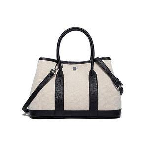 New Design Handbag Elegant Lady Hand Bag Contrast Color Bag Leather Tote Shoulder Bag for Women Ladies Tote Bag Emg5189 pictures & photos