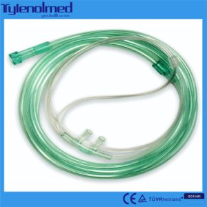 Medical PVC Nasal Oxygen Cannula pictures & photos