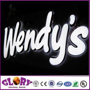 Stainless Steel LED Back-Lit LED Letter Sign for LED Lighting pictures & photos