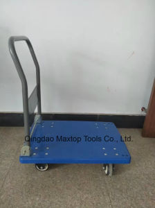 Four Wheels Heavy Duty Folding Platform Hand Truck (pH300) pictures & photos