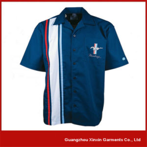 Guangzhou Factory Wholesale Cotton Polyester Cheap Working Shirts (S57) pictures & photos