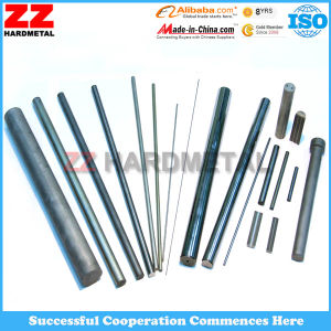 Solid Tungsten Cemented Carbide Sintered Rods with Hole pictures & photos