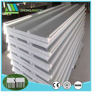 Soundproof Lightweight Color Steel EPS Sandwich Panel China pictures & photos