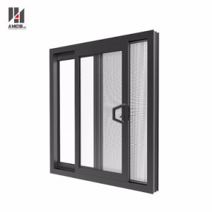 Glass Window Sliding Window Aluminum Sliding Window with Mosquito Net pictures & photos