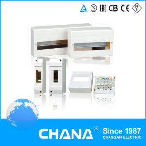 Small Volume Surface Mounted Plastic Distribution Box pictures & photos