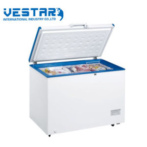 Solar Freezer 200L Stainless Steel R134A Refrigerators Display Cabinets pictures & photos