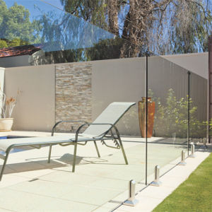 Australia Standard Frameless Glass swimming Pool Fence Spigot Railing Design pictures & photos