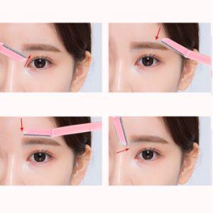 High Quality Cosmetic Eyebrow Razor Plastic Facial Razors pictures & photos