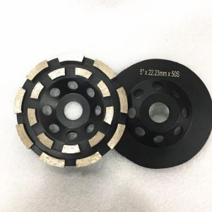 Double Row Diamond Grinding Disc for Concrete pictures & photos