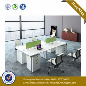 Modern Office Furniture 4 Seater Office Partition Workstation (HX-NJ5042) pictures & photos