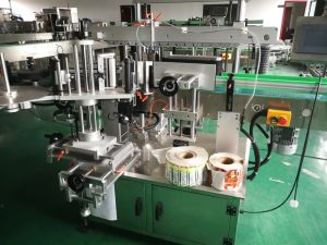Vertical Round Bottle Adhesive Labeling Machine pictures & photos