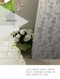 Home Decor Design Marble Color Wall Covering 3D Wallpaper pictures & photos
