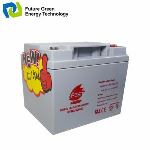12V 40ah Deep Cycle AGM VRLA Lead Acid UPS Storage Battery pictures & photos