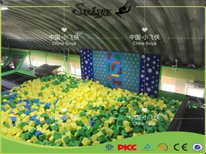 Xiaofeixia Top Sale Kids Jumping Toys Outdoor Trampoline Park with Foam Pit pictures & photos