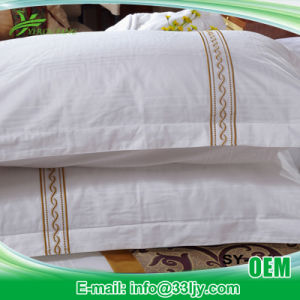 Cotton Embroidery White Bedding Home pictures & photos