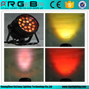 Portable 18LEDs 10W RGBW 4in1 Outdoor LED Zoom PAR Light pictures & photos