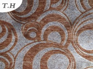 Chenille Gemotrial Furniture Fabric by Black Color pictures & photos
