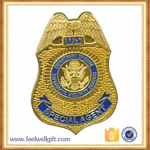 Custom Professional Metal Police Badge for Decoration pictures & photos