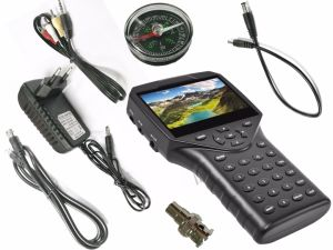 """Portable 4.3"""" DVB-S2/DVB-S Digital Satellite Finder with Battery and Ahd Camera pictures & photos"""