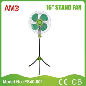 The Cheapest Hot-Sale Stand Fan with Light (FS40-001) pictures & photos
