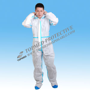 Diposable Nonwoven Workwear Uniform, Safety Workwear pictures & photos