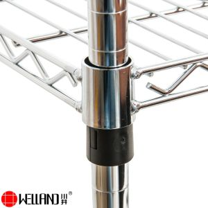 Heavy Duty Chrome Steel Supermarket Grocery Food Storage Wire Shelving pictures & photos