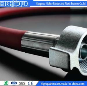 Made in China High Temperature Steel Wire Braid Steam Hose pictures & photos