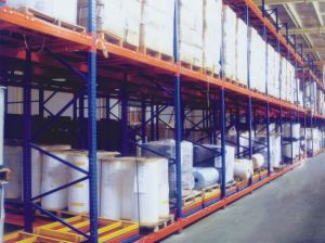 Heavy Duty Push Back Pallet Racking pictures & photos