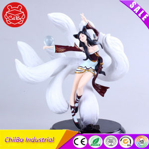 Nine-Tailed Fox Cartoon Character Action Figures with Base pictures & photos