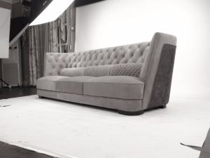 Design Nubuck Leather Upholstered Livingroom Furniture Series pictures & photos
