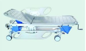 Manual Hospital Medical Patient Transprot Stretcher Trolley (F-4) pictures & photos