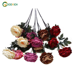 Big Peony Artificial Flower for Decoration pictures & photos