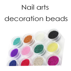 Plate Nail Arts Decoration Colorful Beads pictures & photos