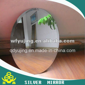 Square Silver Mirror