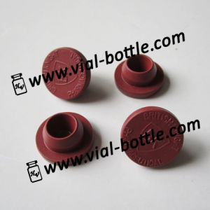 20mm Red Butyl Rubber Stopper with Custom Logo Engraved pictures & photos