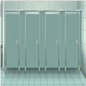 Zinc Alloy Bathroom Partition Support Hinge Clip Hook Lock (KTW08-017)