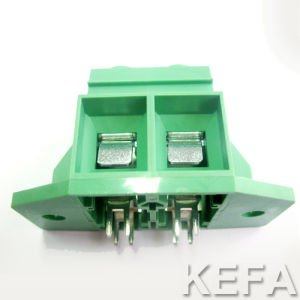VDE Approved PCB Screw Terminal Block with Side Lock for Anti-Vibration pictures & photos