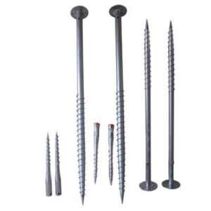 Hot Dipped Galvanized Ground Screws Pile for Solar Mounting System pictures & photos
