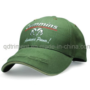 Screen Print Embroidery Cotton Twill Sport Baseball Cap (TMB0820) pictures & photos