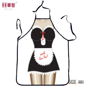 Polyester Printed Sexy Kitchen Apron pictures & photos