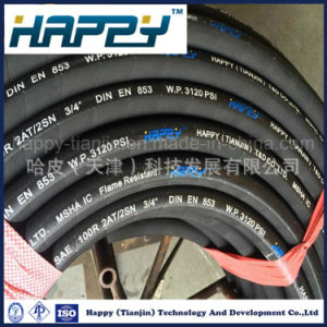 SAE 100 R2 Industrial Steel Wire Reinforced Hydraulic Rubber Hose pictures & photos