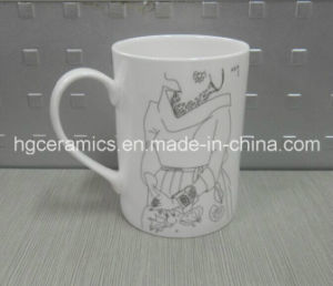 Fine Bone China Mug, 10oz Straight Bone China Mug pictures & photos