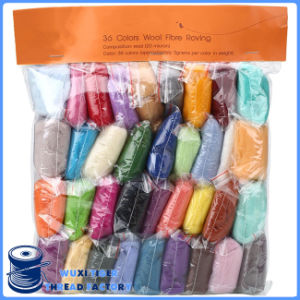 Pure Color China Wholesale Wool Yarn Slippers
