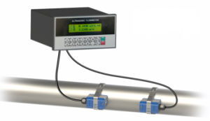 Panel-Mount Ultrasonic Flow Meter
