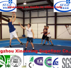 Factory Price Interlocking Basketball Court Flooring Tile pictures & photos
