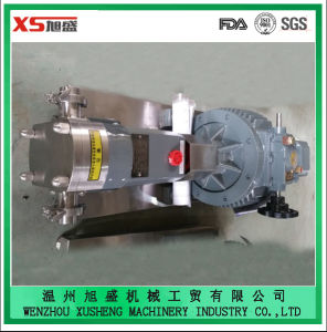 Stainless Steel Ss304 Ss316L Sanitary Hygienic Cam Rotor Pump pictures & photos
