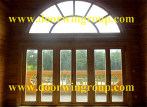 Solid Wood Aluminum Casement Window for Wooden House pictures & photos